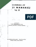 Discourses of Babuji Maharaj Vol-2