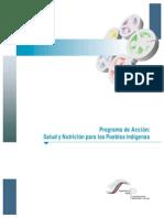 Programa Salud y Nutricion Indigena