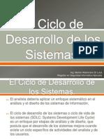 El Ciclo de Desarrollo de Los Sistemas
