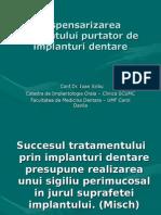 Dispensarizarea Pacientului Purtator de Implanturi Dentare