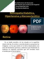 Retinopatía Hipertensiva, Diabética y Ateroesclerótica