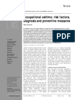 Asma Ocupacional Factors Riesgo