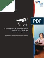 A Teacher Education Model