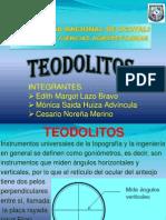 topografia - teodolitos