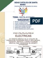INSTALACIONES ELECTRICAS EXPOCISION