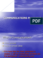Communications Planning for Laguna