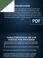 Costos Por Procesos de Produccion