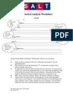 rhetorical analysis worksheetgreat resourse