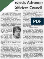 Sewer projects advance; Martin criticizes council
