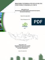 Rekapitulasi Perkembangan Penyelesaian RTRW Provinsi/Kabupaten/Kota Seluruh Indonesia