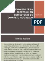 EL FENÓMENO DE LA CORROSIÓN EN ESTRUCTURAS DE
