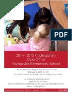 Kindergarten Kick Off at YES