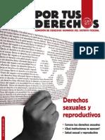 Derechos Sexuales y Reproductivos. Cartilla (CDHDF)