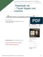 Ação de Repetição de Indébito - Taxas Ilegais nos Financiamentos_ Ação Revisional de financiamento de veículos - JUROS ABUSIVOS