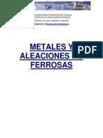 Metales No Ferrosos Aluminio y Otros
