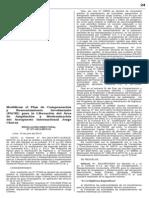 Modifican PACRI Jorge Chavez