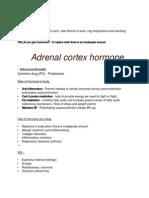 Hormone Study Guide Pharmacology Nursing