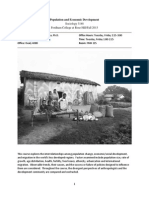 Population and Economic Development
