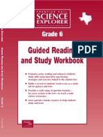 Science Explorer Guided Reading Workbook Gr6