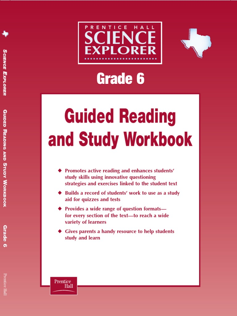 Science Explorer Guided Reading Workbook Gr6 | Gases | Force