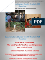 Session 4 - Documentation of Gender Equality Results in ADB Operations