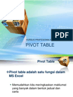 Pivot Table Ju