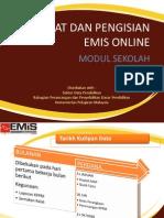 Ralat Dan Pengisian Emis Online 2012 - Sekolah