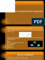 2.3 Procesos Ligeros (Hilos o Hebras)