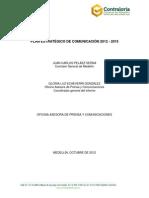 Plan  Estratégico Comunicaciones