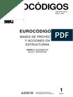 Eurocodigo 1 Parte 4. Acciones en silos y depósitos