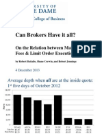 Can Brokers Have It All?