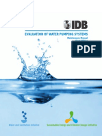 Evaluation of Water Pumping Systems - Maintenance Manual