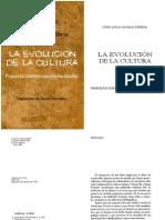 Luigi Luca Cavalli La Evolucion de La Cultura