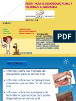 Patologia Odontoamigos Cancer Oral