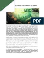 Como Viver um Estilo de Vida Missional Na Prática