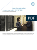 Key Considerations in Evaluating Data Warehouse Applications
