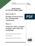 Cyprus National Annex en 1998-1