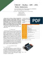 Laboratorio CUBLOC - Modbus - OPC - iFIX