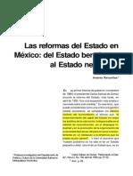 Las Reformas Del Estado en Mexico