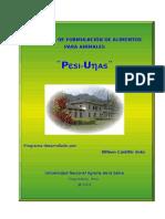 Manual de Programa de formulación