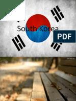 1st assessment task - south korea