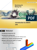 CFX-Intro 14.5 WS01 Mixing-Tee