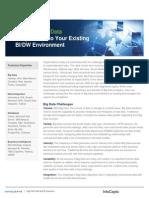 Big Data Integration into Existing Business Intelligence /DataWarehousing Environment