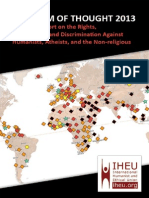 IHEU Freedom of Thought Report 2013