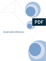 brand audit of mili shoes