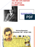 Contribution and Life History of SA Ramanujan School Project