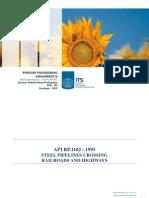API RP 1102 - 1993