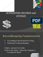 Accounting Records and Systems