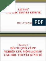 Chuong I - Doi Tuong Va Phuong Phap Nghien Cuu