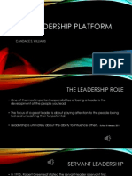leadership platform presentation